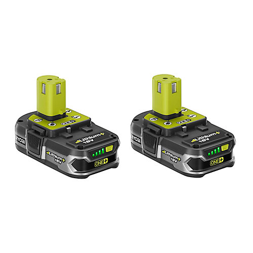 18V ONE+ Li-Ion Compact Lithium+ Battery Pack 1.5Ah (2-Pack)