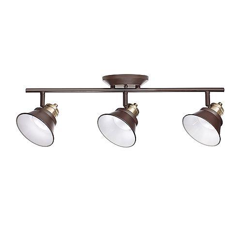 3-Light LED Track Light-Glasgow Collection - ENERGY STAR®