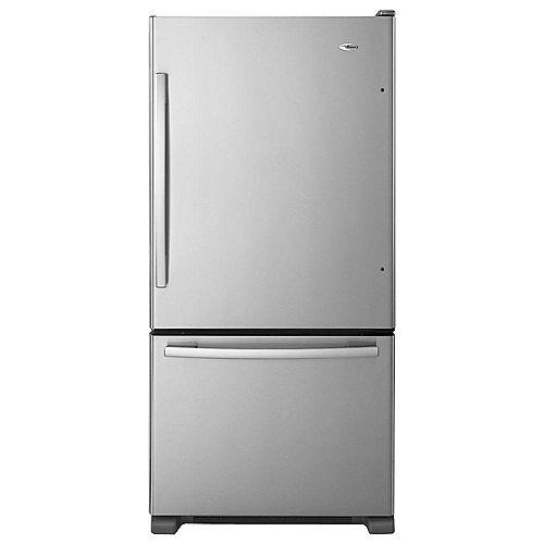 29 pouces l 18 cu. Réfrigérateur à congélateur inférieur, 3 pi³
