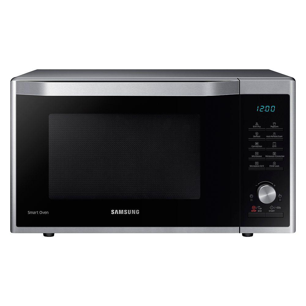 Samsung 1.1 cu.ft. Countertop Microwave in Stainless Steel