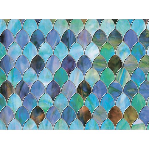 Brewster Home Fashions Peacock Window Premium Film
