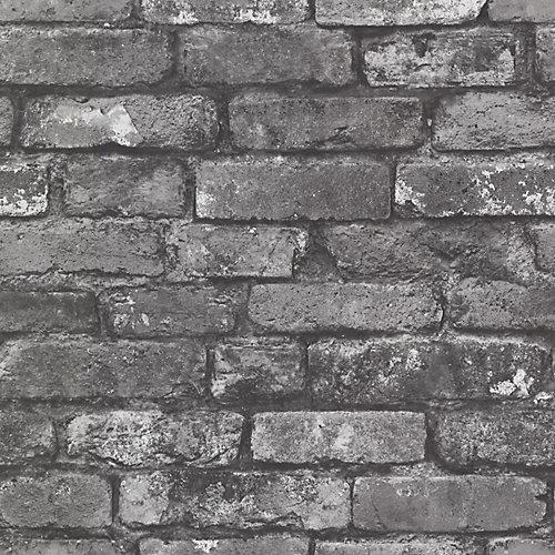 Brickwork Slate Exposed Brick Wallpaper
