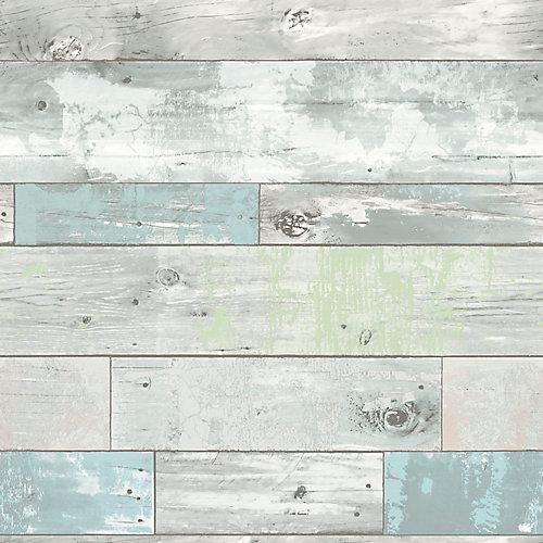 20.5-inch x 18 ft. Beechwood Peel & Stick Wallpaper