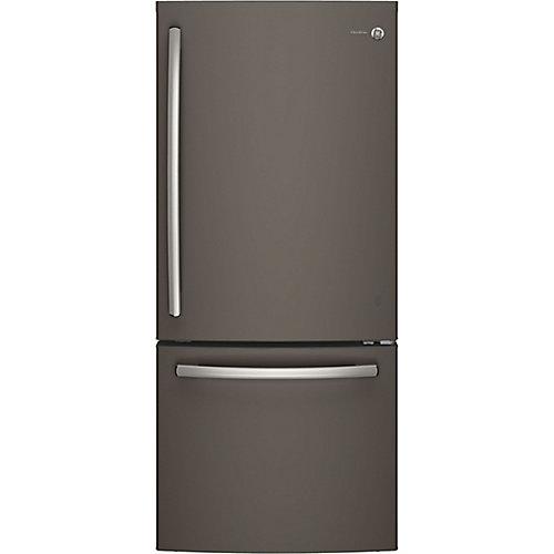 Réfrigérateur de 30 po W 20,9 pi3 à fond en ardoise pour congélateur - ENERGY STARMD