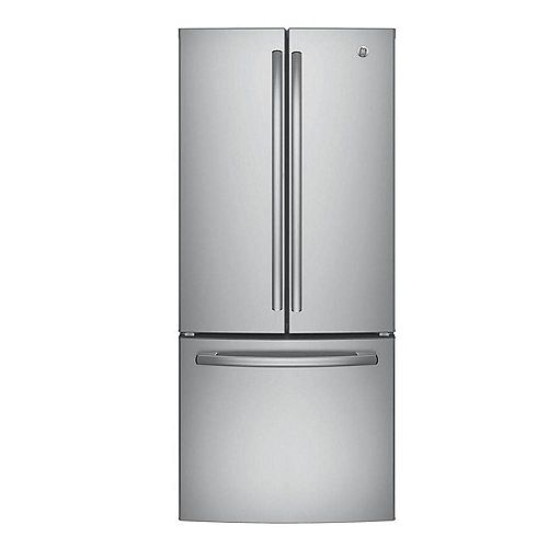 30-inch W   20.0 cu. ft. French Door Refrigerator in Stainless Steel - ENERGY STAR®