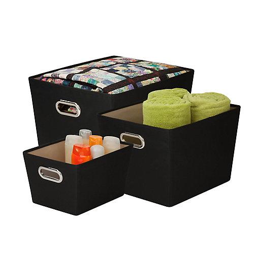 Organizing Tote Kit in Black