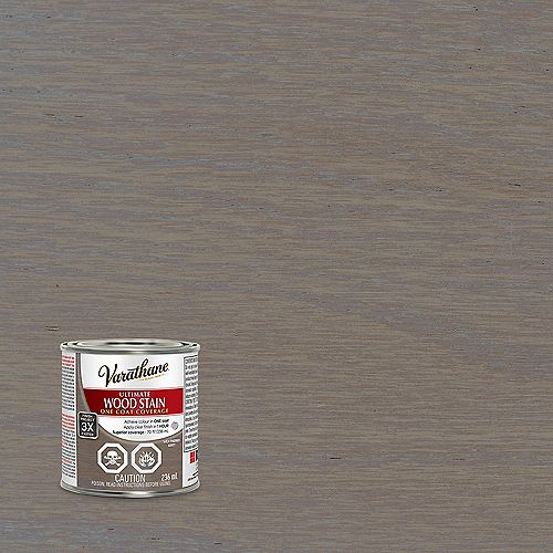 Ultimate Oil-Based Interior Wood Stain In Weathered Grey, 236 Ml