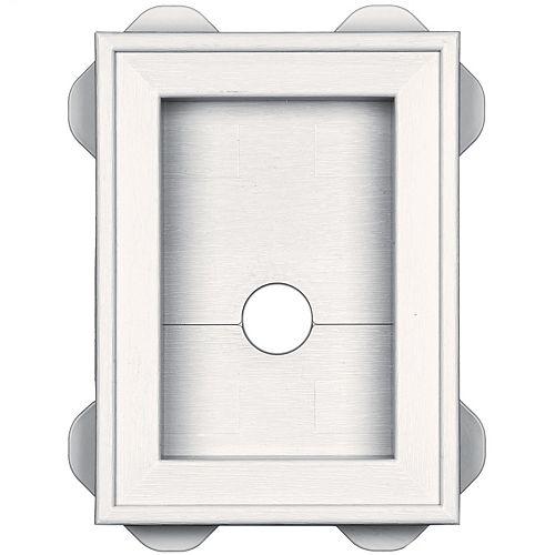 MountMaster Split Block Mini White