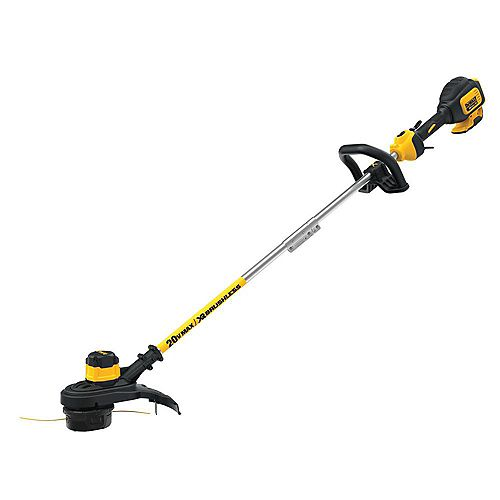 20V MAX Lithium-Ion Cordless 13-inch Brushless Dual Line String Grass Trimmer (Tool Only)