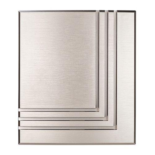 Sans fil ou filaire de Bell porte - Nickel brossé