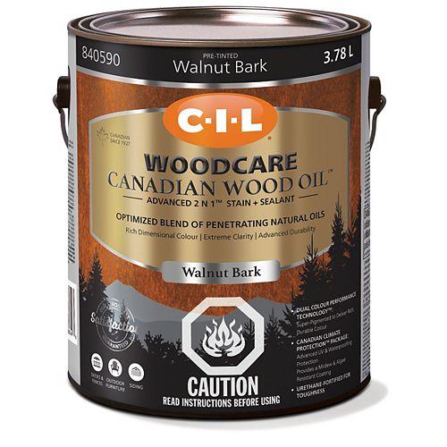 CIL Woodcare Canadian Wood Oil - Walnut Bark 3.78 L-840590