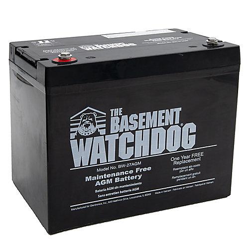 Batterie de secours sans entretien (AGM)