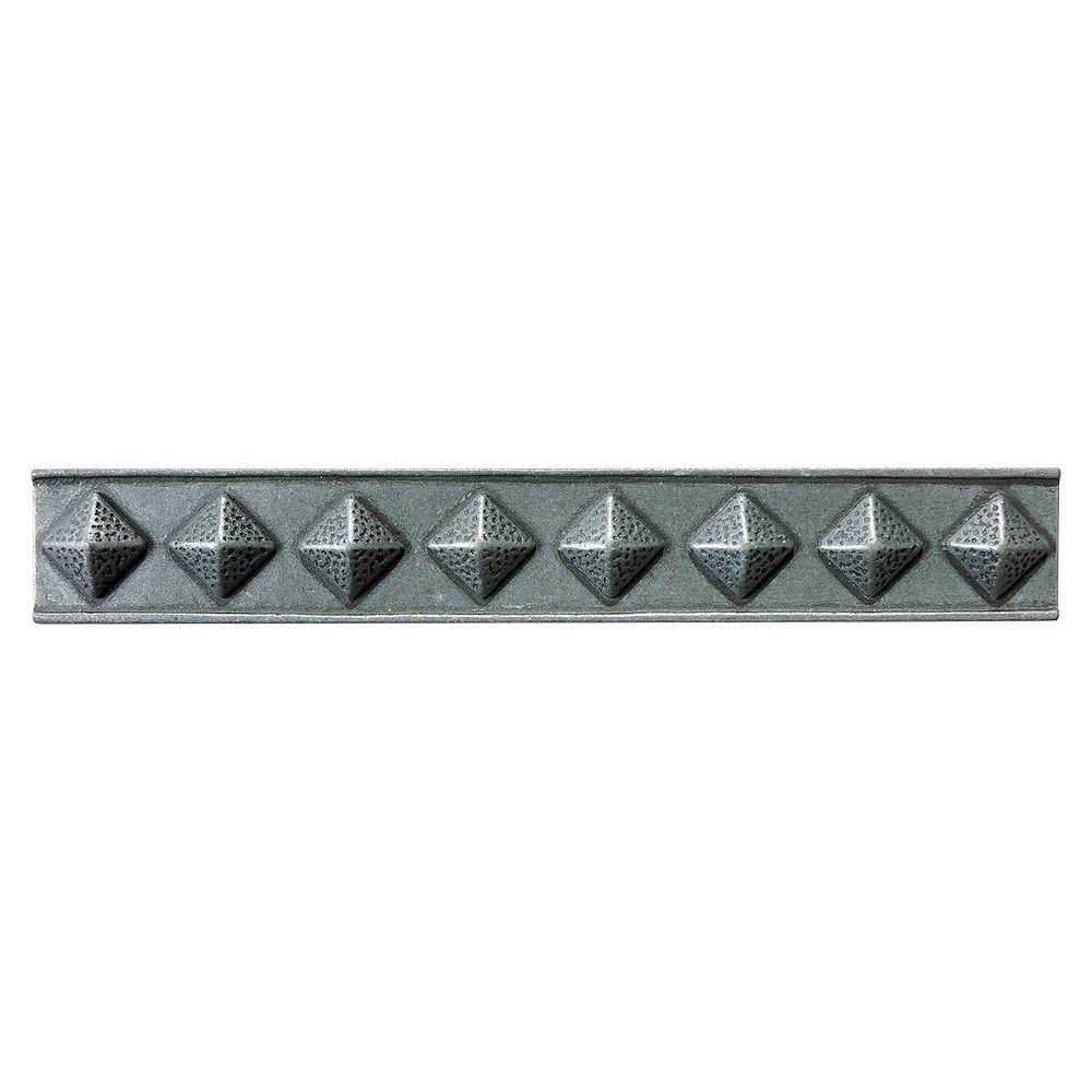 Enigma 354388 2 Inch x12 Inch  Bronze Metal Chairrail