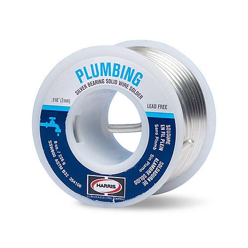 SSW800 8 Oz. Lead Free Plumbing Solder
