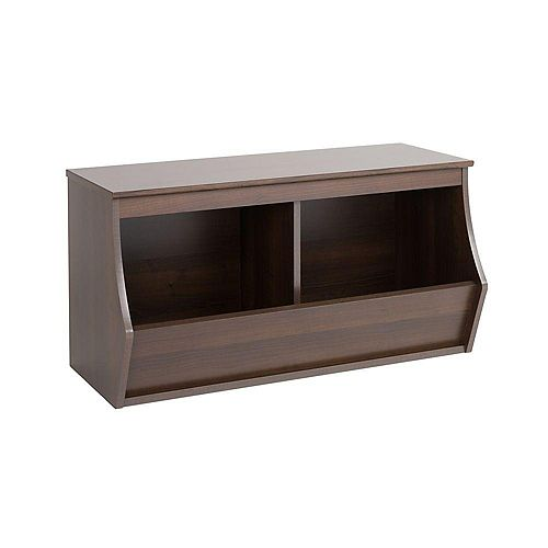 Fremont Stackable 2-Bin Storage Cubby