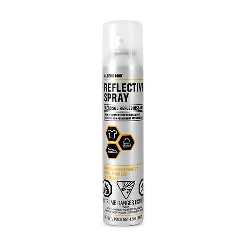 130 Gram Reflective Spray Non-Permanent Colourless