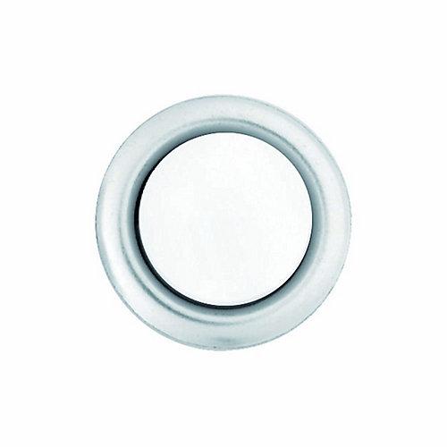 Wired Lighted Door Bell Push Button Insert, Nickel