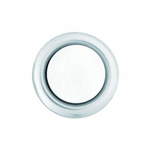 Hampton Bay Wired Lighted Door Bell Push Button Insert, Nickel