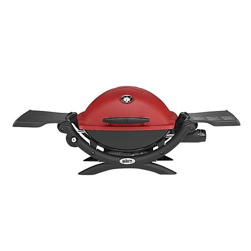 Q 1200 Portable Tabletop Propane BBQ in Red