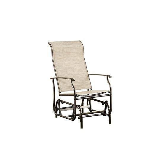 Bahia Patio Rocking Chair in Bronze