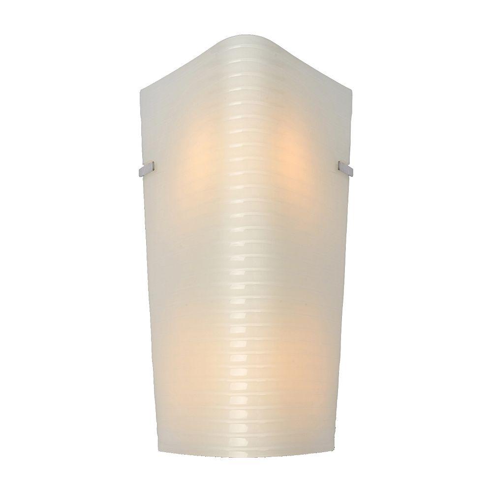 Shawson Lighting 2 light Wall Sconce, Chrome Finish