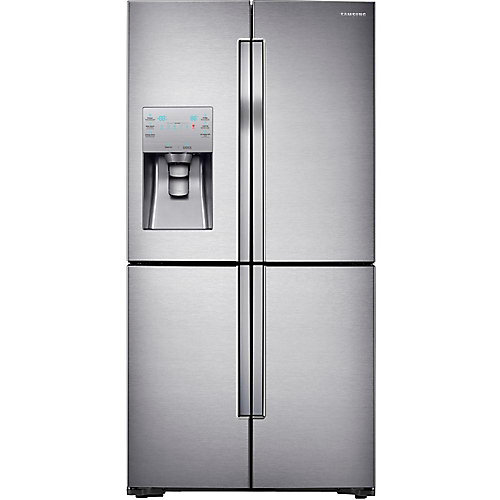 36-inch W 28.1 cu. ft. French Door Refrigerator in Stainless Steel - ENERGY STAR®