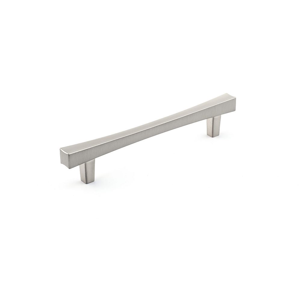 Richelieu Westmount Collection 5 1/16 in (128 mm) Center-to-Center Brushed Nickel Transitional Cabinet Pull