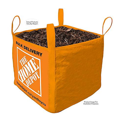 Black Mulch - Bulk Delivered Bag - 1 Cubic Yard