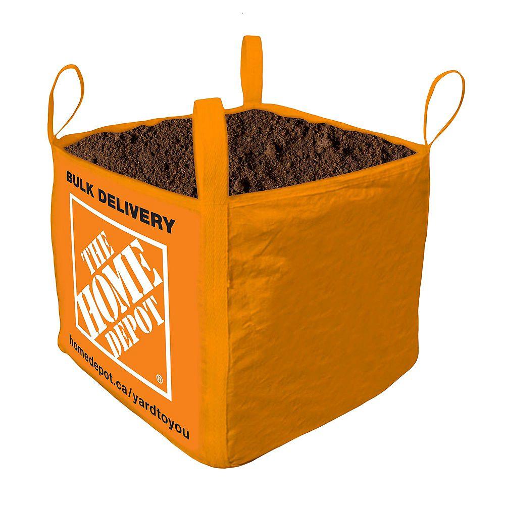 Yard To You Vigoro Premium Garden Soil Bulk Bag Delivered 1 Cubic Yard The Home Depot Canada