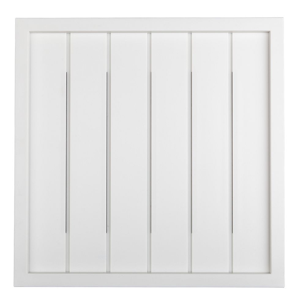 Hampton Bay Wireless or Wired Door Bell, White Bead Board