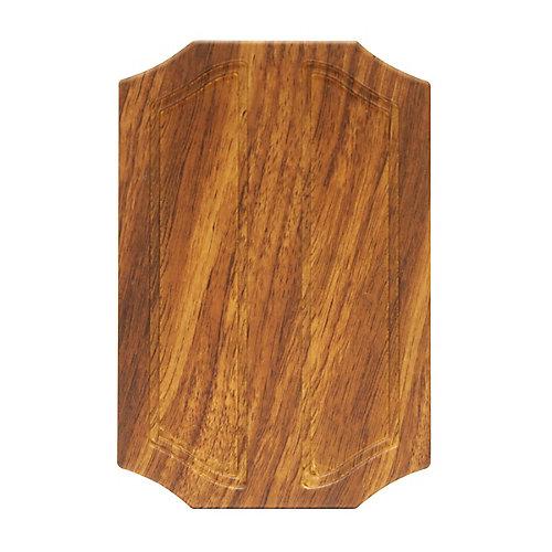 Wireless or Wired Door Bell - Medium Oak Wood
