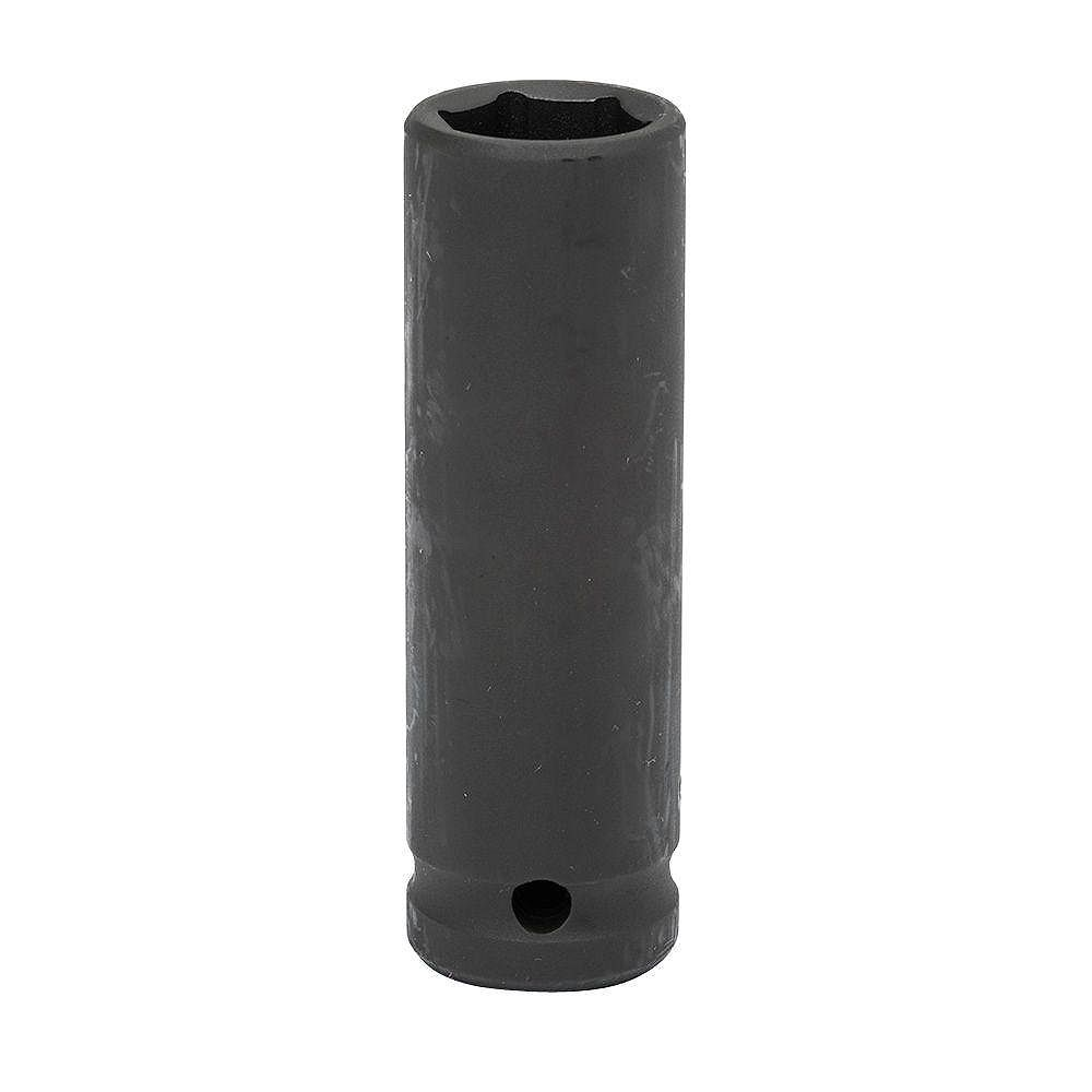 Husky 1/2-inch Drive 17 mm 6-Point Deep Impact Socket