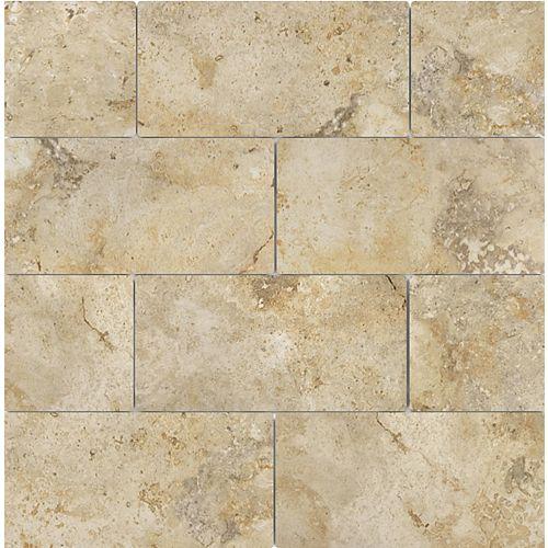 3-inch x 6-inch Capri Giallo Porcelain Tiles, Set of 44 (5.38 sq. ft./case)