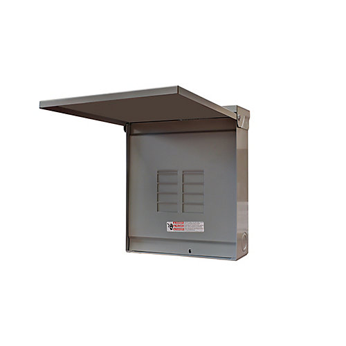 Outdoor Pannel 125A 8 Circuits