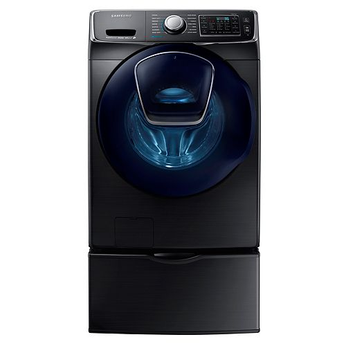 5.2 cu. ft. Front Load Washer with AddWash in Black Stainless Steel - ENERGY STAR®