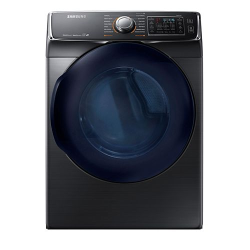 7.5 cu. ft. Front Load Electric Dryer in Black Stainless Steel - ENERGY STAR®