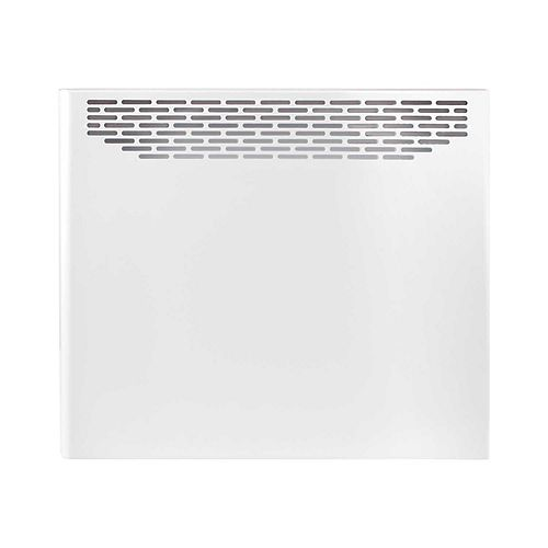 White Convector 1500 watts 240 volts with built-in stat