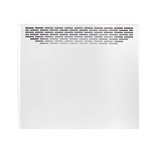 White Convector 1000W 240V With Built-in Electronic Thermostat