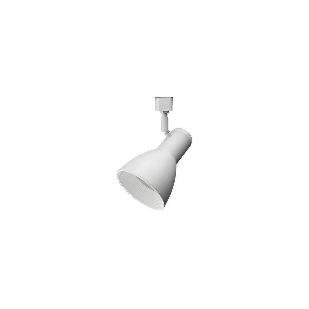 Lithonia Lighting Tête large et blanche à1lampe DEL déclairage sur rail