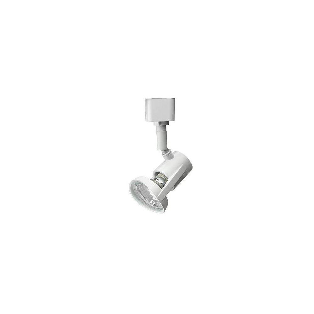 Lithonia Lighting Tête blanche à 1 lampe halogène déclairage sur rail