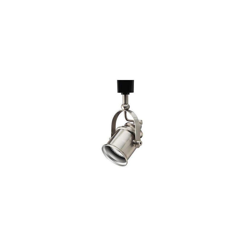 Lithonia Lighting Tête de type projecteur en nickel brossé à1lampe halogène déclairage sur rail- ENERGY STAR®