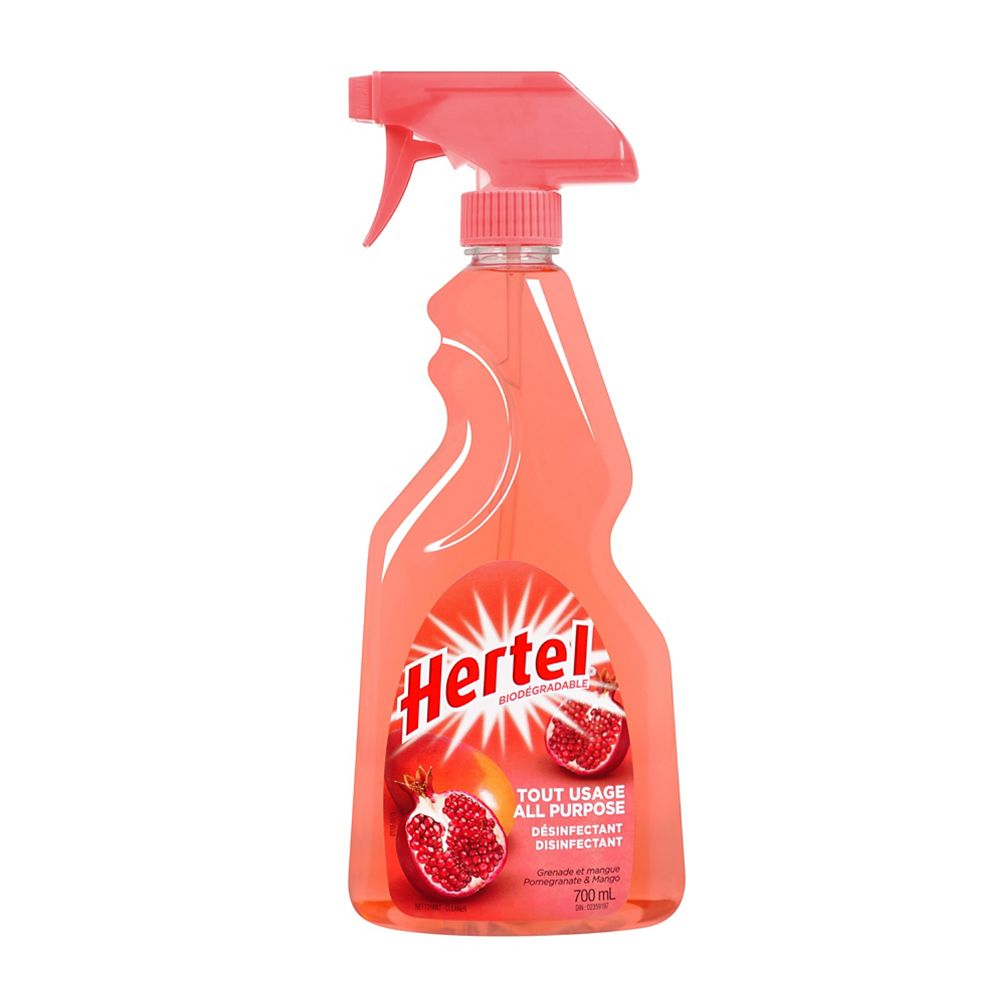 HERTEL 700 mL Pomegranate & Mango All-Purpose Disinfectant