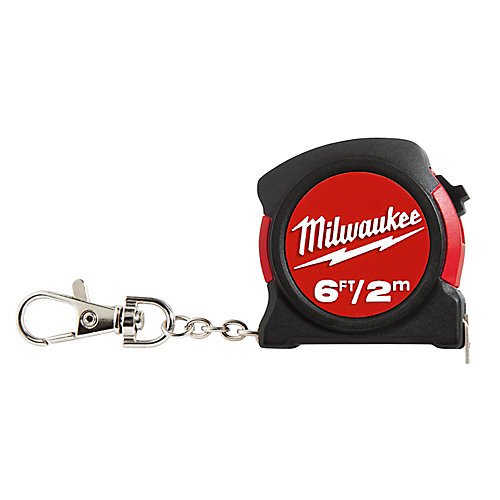 6 ft./2M Keychain Tape Measure