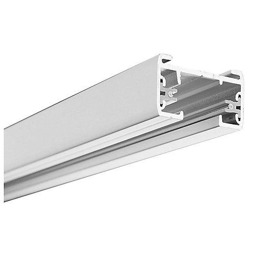 Tête linéaire de10cm (4po) déclairage sur rail – blanche