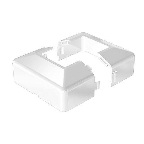 White Post Base Cover