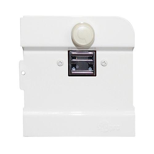 Thermostat intégré double pole pour plinthe B