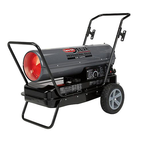 95K or 135K BTU Kerosene Forced Air Heater