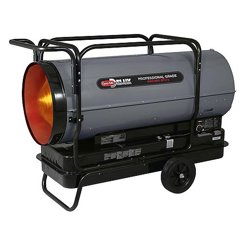 KFA650DGD 650K BTU Kerosene Forced Air Heater