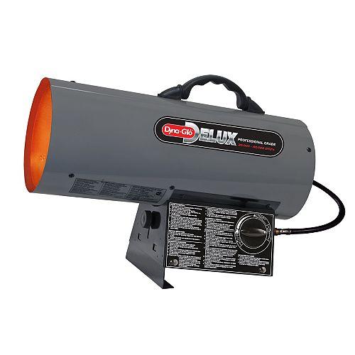 Dyna-Glo Delux 30K - 60K BTU LP Forced Air Heater - CA