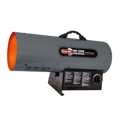 Professional Grade 120k - 150k BTU Liquid Propane Forced Air Heater